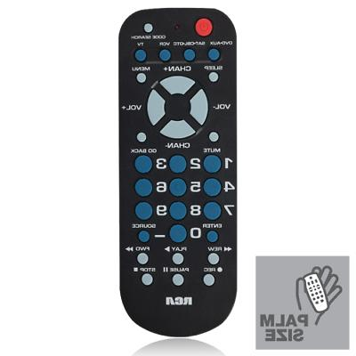 universal remote control with 4 device