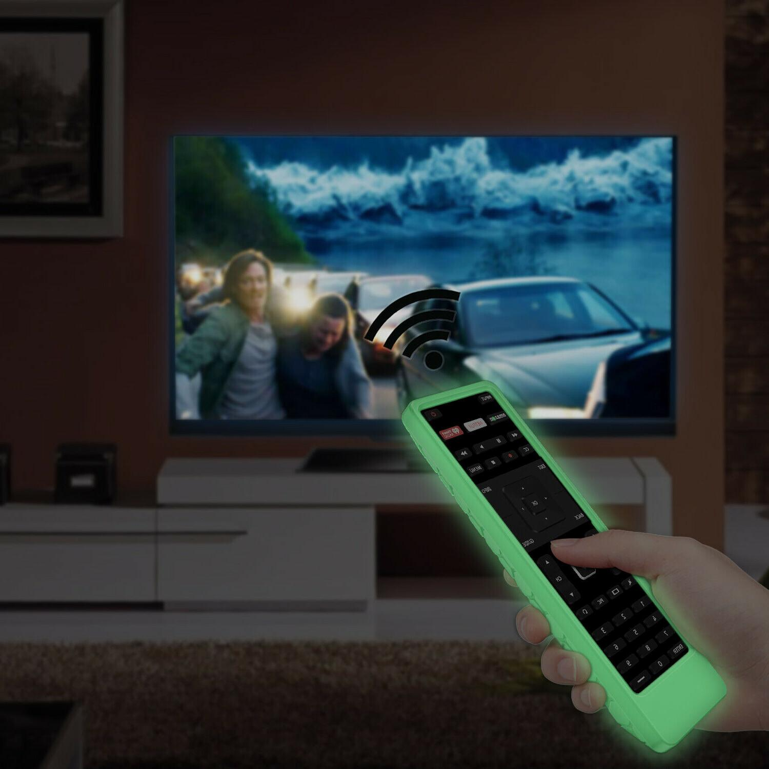 For Vizio XRT122 LCD LED TV Remote Shockproof