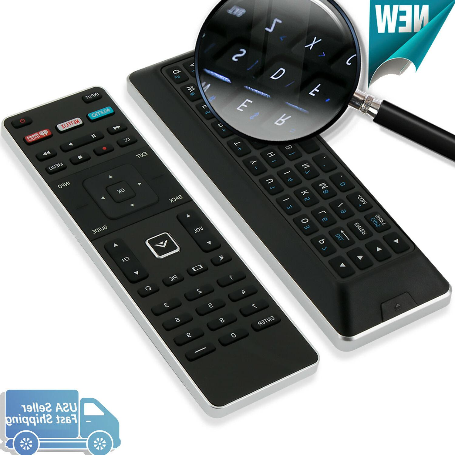 New Remote Control XRT500 for Vizio Smart TV with Xumo Netflix Iheart Back-light
