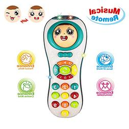 Learning Toys 12-24 Year Old Baby Girl, Educational Remote T