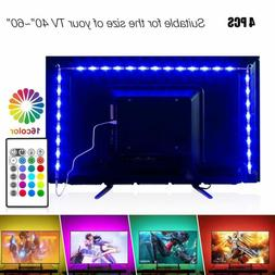 Led Strip Lights For Tv Backlight Kit Usb Powered With Remot