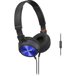 Sony Lightweight ZX Series On-ear Headphones with In-line Mi