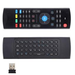 MX3 2.4G Wireless Remote Control Keyboard Air Mouse For Andr