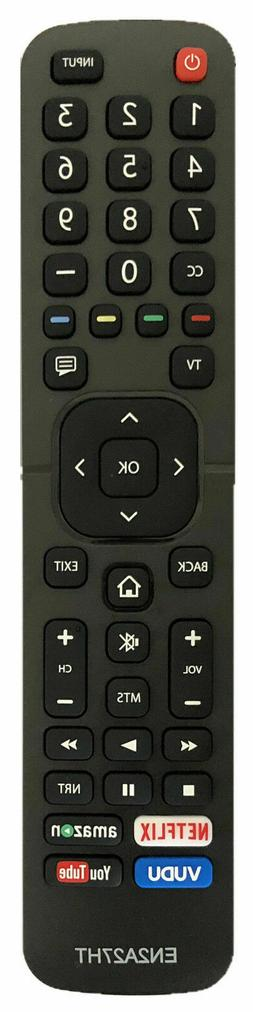 New Hisense Replacement Remote EN2A27 for Hisense SMART LED