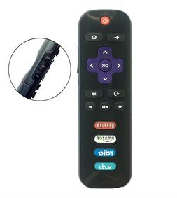 New RC280-07 LED HDTV Remote for TCL ROKU TV with Vudu Netfl