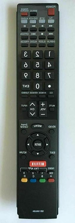 NEW USBRMT Remote Control GA890WJSA for SHARP AQUOS TV GB004