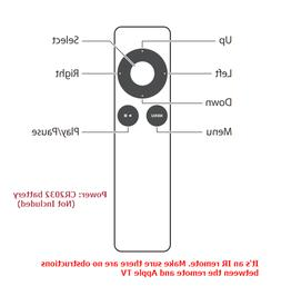New Remote Control  Replace for Apple TV 2nd 3rd Generation