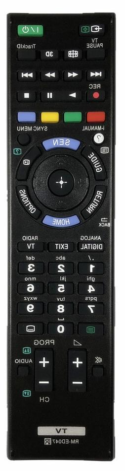 New USBRMT Remote Control RM-ED047 For SONY Bravia TV KDL-40