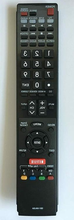 NEW USBRMT Remote GB118WJSA For SHARP AQUOS TV GB005WJSA LC7