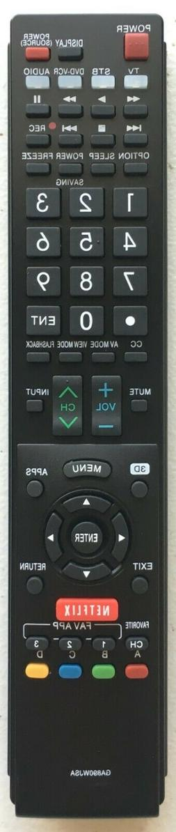 NEW USBRMT Remote GB118WJSA for SHARP AQUOS TV GB005WJSA GA8