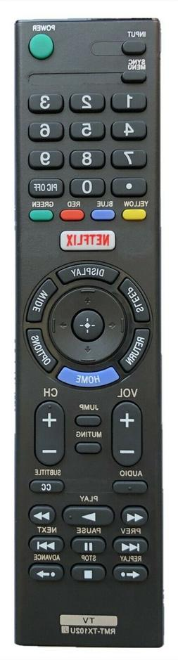 new remote rmt tx100u for sony tv