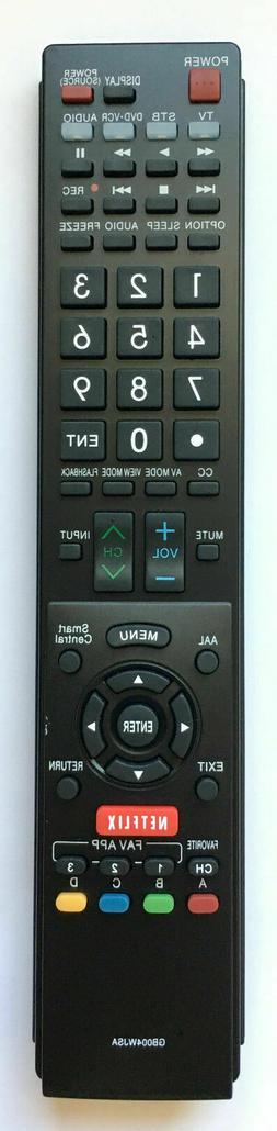 NEW SHARP Replacement TV Remote GB004WJSA for GA935WJSA GB11