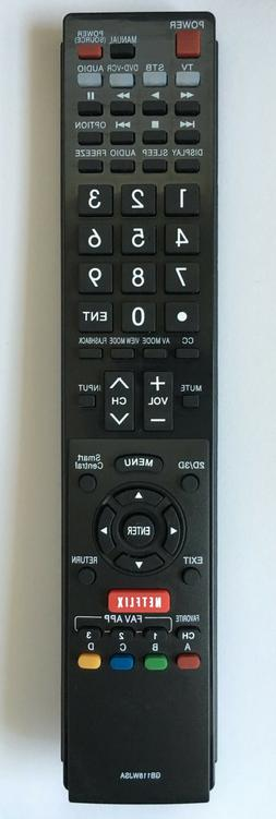 NEW SHARP Replacement TV Remote GB118WJSA for GA935WJSA GB10