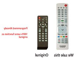 New Universal Remote for EMERSON/SYLVANIA TV - Already Progr