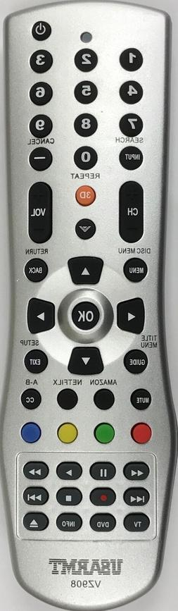 NEW Vizio Universal Remote for almost all Vizio LCD LED TV &