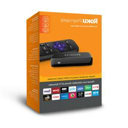 Roku Premiere 4K HDR Streaming Player Ultra HD Watching TV S