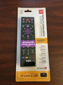 RCA 6-Device Universal Remote  Black - New