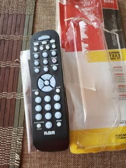 RCA RCR3273Z Three-Device Universal Remote with instructions