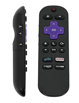 New Remote Control LC-RCRUS-17 for Sharp Roku TV with Netfli