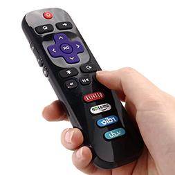 Exinnos Replacement TV Remote Control for TCL RC280 with ROK