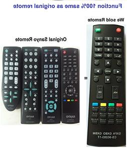 New Replaced Remote GXFA GXBD GXBM CS-90283-1T fit for Sanyo