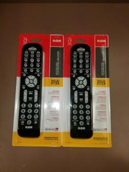 set of 2 6 device universal remote