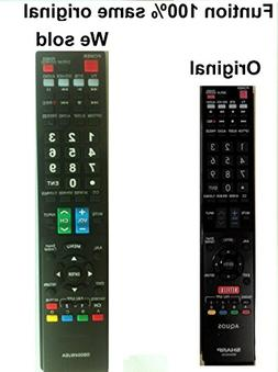 New Sharp Aquos GB004WJSA Replaced Remote control for LC-80L