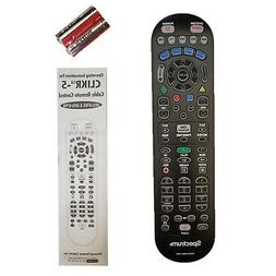 SPECTRUM  Cable TV VCR DVD AUX Remote Controller CLIKR-5 UR5