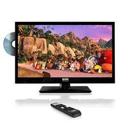 "Pyle 23.6"" 1080p LED TV, Multimedia Disc Player, Ultra HD TV"
