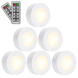 6Pack Under Kitchen Cabinet Room Lighting Battery Operated L