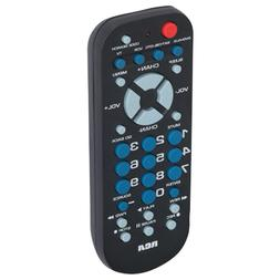 RCA Universal 4 Device Palm Sized Remote Control RCR504BE Lo