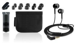 Universal In Ear Headphones Earphones + Mic + in Line Remote