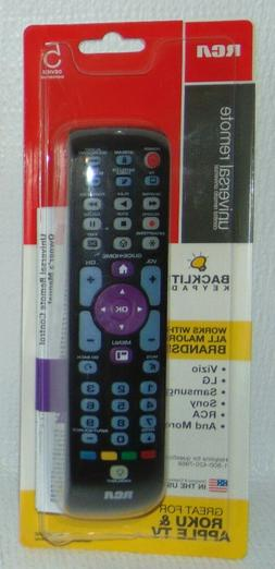 RCA Universal Remote Control, 5 Device, Great for Roku & App