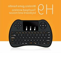 USB 2.4G Mini Wireless Keyboard Mouse Remote Control for TV