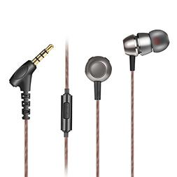 AOKII Wired in-Ear Earbud Headphones with Mic & Remote Contr