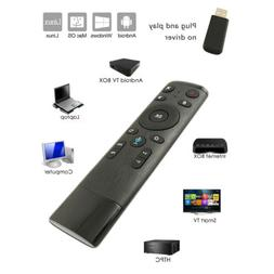 X10 Air Mouse Remote Control Wireless Black for Smart TV And